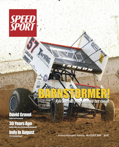 SPEED SPORT Magazine August 2020 Cover Art Poster featuring Kyle Larson