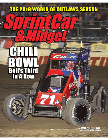 Sprint Car & Midget Magazine-Back Issue