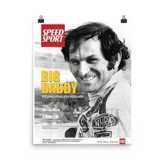 January 2020 SPEED SPORT Magazine limited edition cover art poster featuring Don Garlits