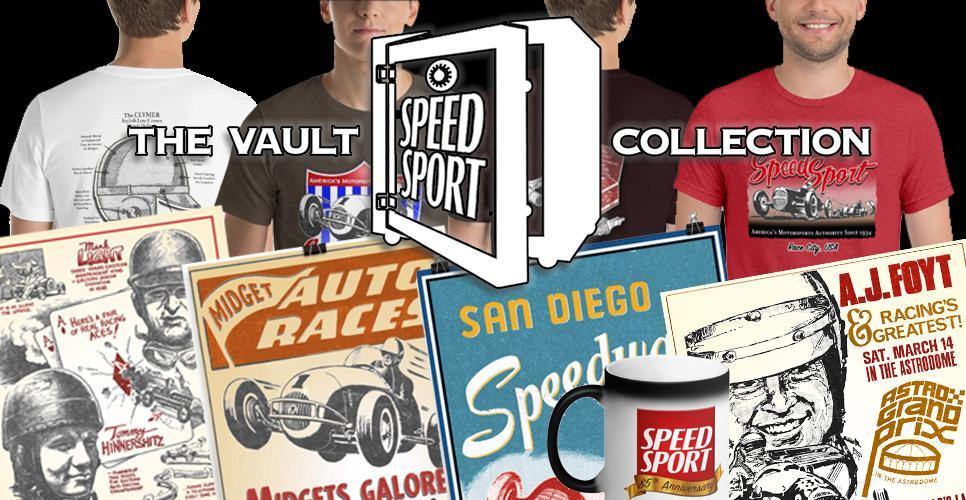 Shop Our New SPEED SPORT Vault Collection - hand selected and restored artwork for 85 years of National Speed Sport News Archives!