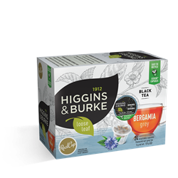 Higgins & Burke Bergamia Grey 24ct