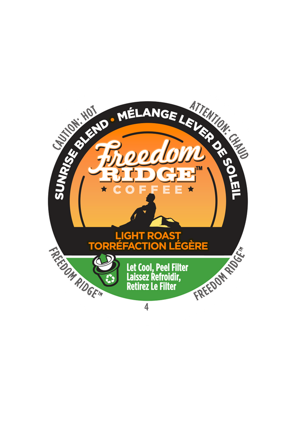 Freedom Ridge Sunrise Blend 70ct