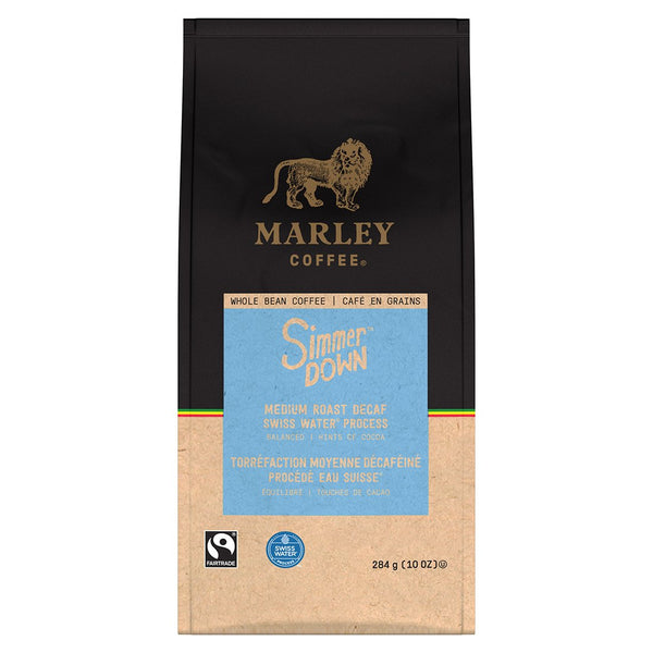 Marley DECAF Simmer Down Whole Bean Coffee