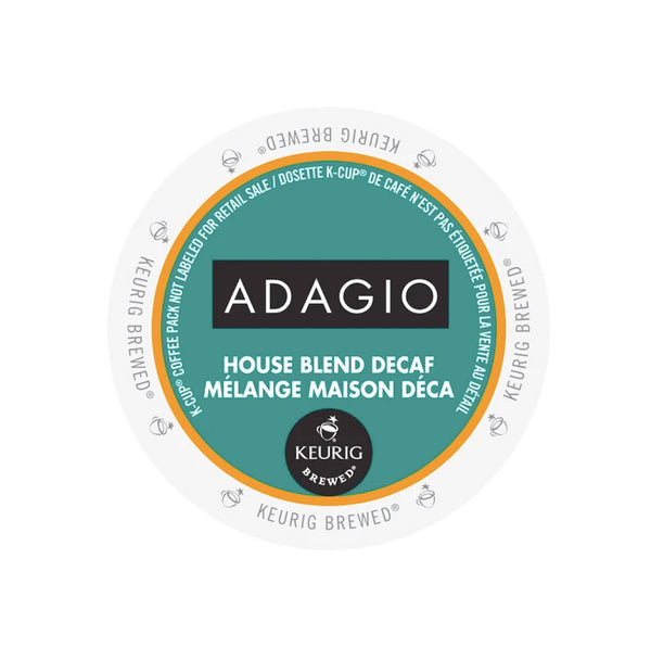 Adagio DECAF House Blend 24ct