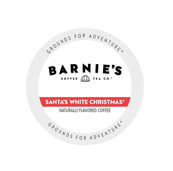 Barnie's Santa's White Christmas 24ct