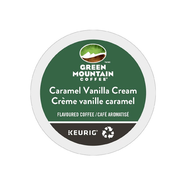 Green Mountain Caramel Vanilla Cream  24ct