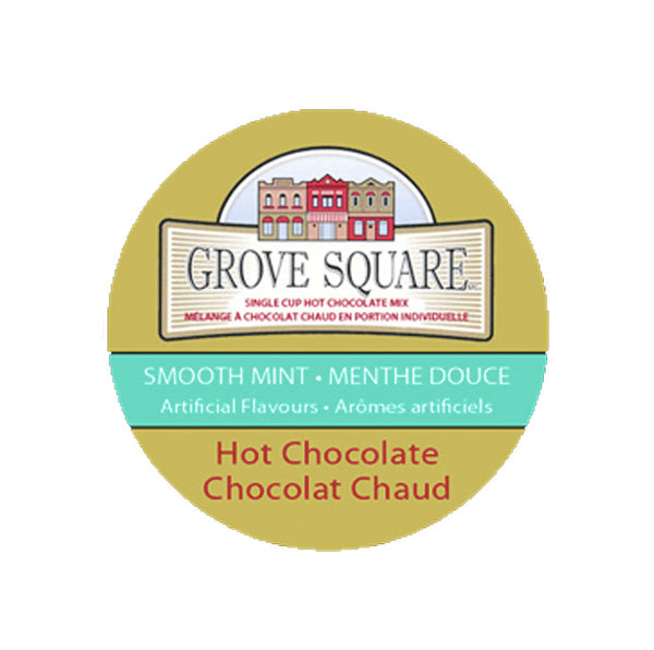 Grove Square Smooth Mint Hot Chocolate 24ct