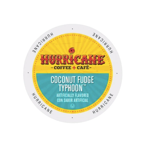 Hurricane Coconut Fudge Typhoon 24ct