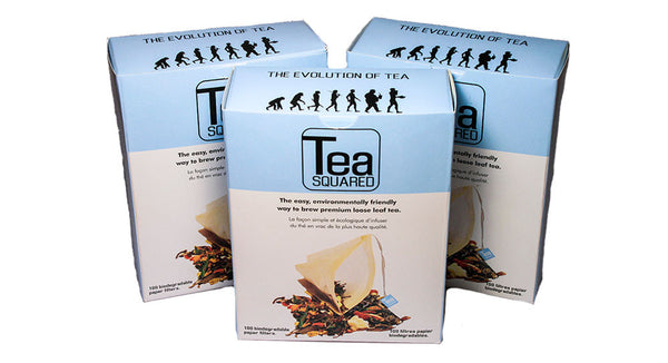 Tea Squared Disposable Tea Bags