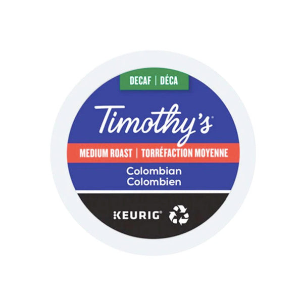 Timothy's Decaf Colombian 24ct