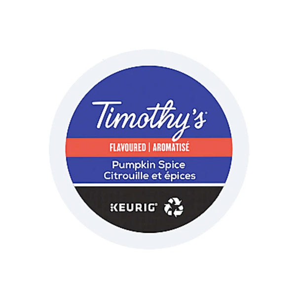 Timothy's Pumpkin Spice 24ct (Seasonal)