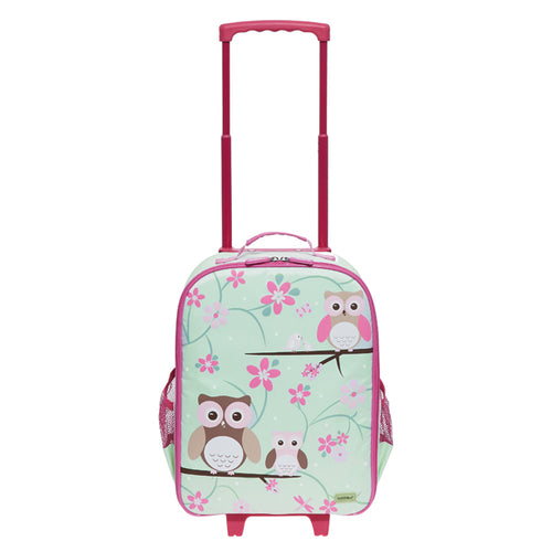 Bobble Art Wheelie Bag Owl