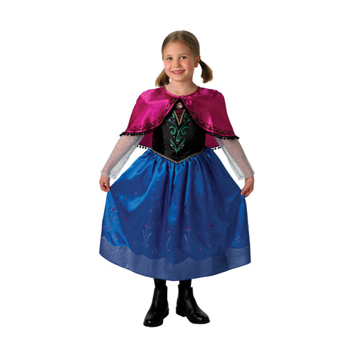 Frozen Deluxe Anna Girls Costume