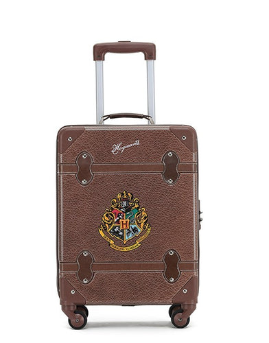 Harry Potter Hogwarts Trolley Hard Shell 19 Inch Suitcase