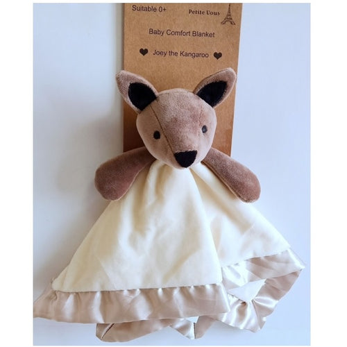 Petite Vous Baby Comfort Security Blanket ~ Joey the Kangaroo