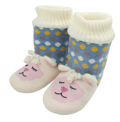 Aroma Home Knitted Animal Bootie ~ Lamb