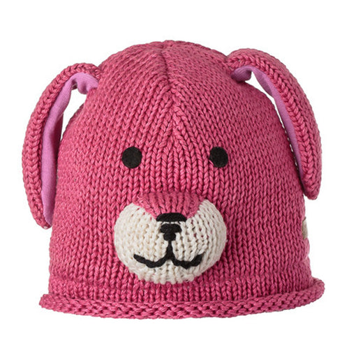 Knitwits Toddler Doggy Cotton Beanie