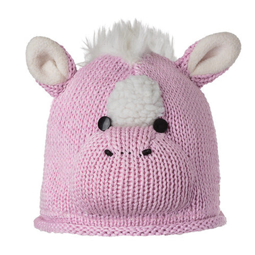Knitwits Kids Horse Cotton Beanie