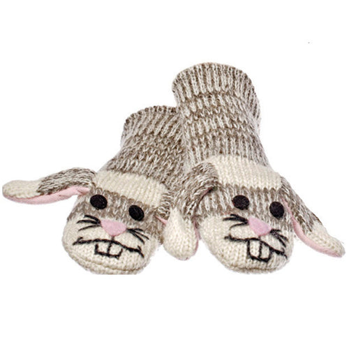 Knitwits Sadie the Sock Bunny Animal Mittens