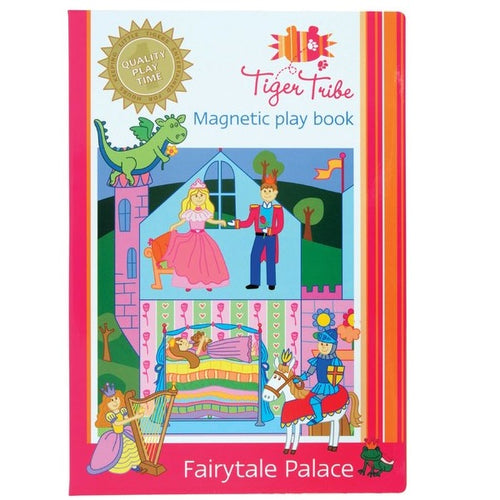 Tiger Tribe Magnetic Play Book Fairytale Palace