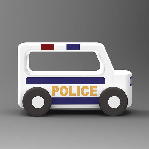 Moover Mini Wooden Police Car