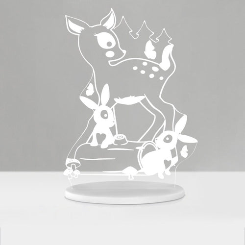 My Dream Light Woodland LED Night Light