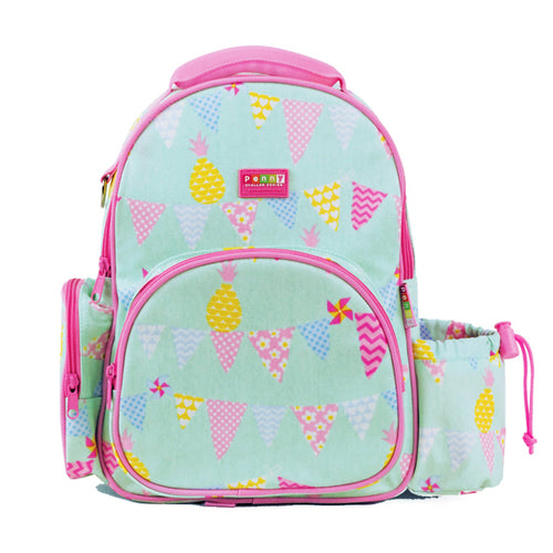Penny Scallan Medium Backpack ~ Pineapple Bunting