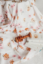 Load image into Gallery viewer, Snuggle Hunny Kids Organic Muslin Wrap - Poppy