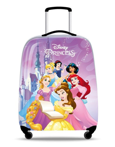 Disney Princesses Purple Hard Shell 17 Inch Suitcase
