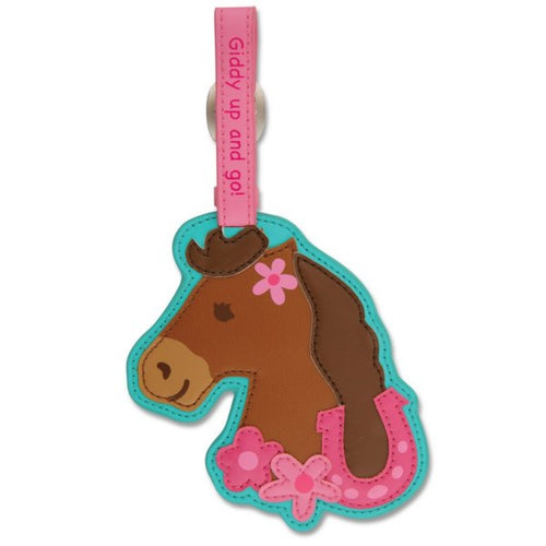Stephen Joseph Horse Bag Tag