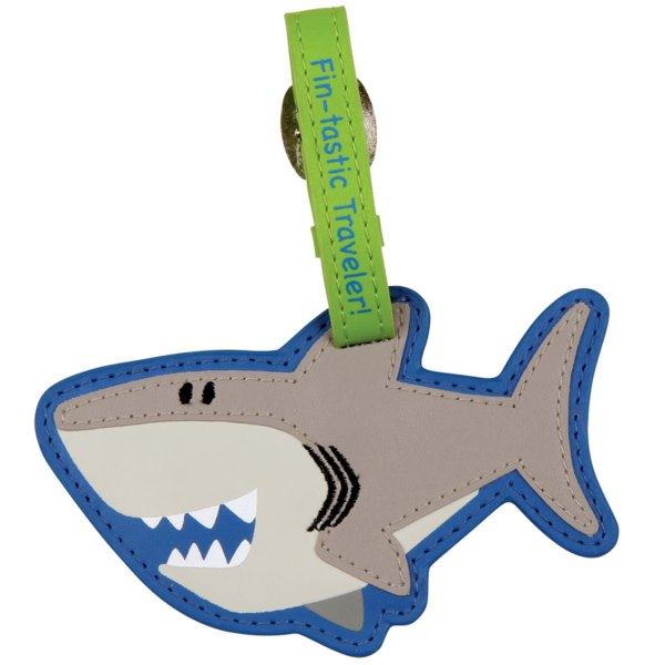 Stephen Joseph Bag Tag Shark