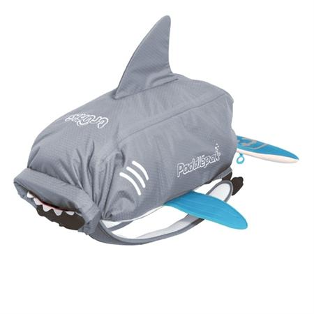 Trunki PaddlePak Backpack & Swim Bag ~ Shark