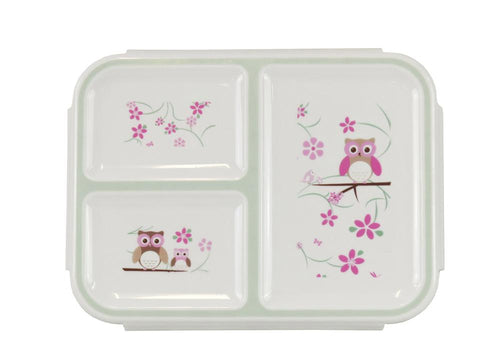 Bobble Art Owl Large Bento Snack Box