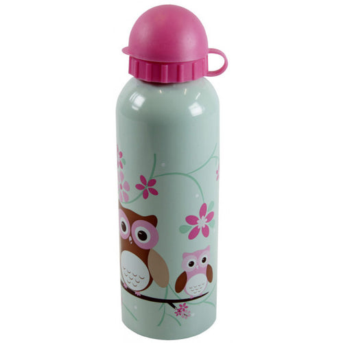 Bobble Art Owl Stainless Steel Drink Bottle