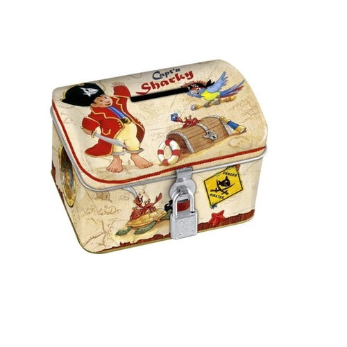 Spiegelburg Captain Sharky Tin Money Box