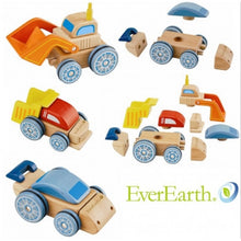 Load image into Gallery viewer, EverEarth Interchangable Wooden Car