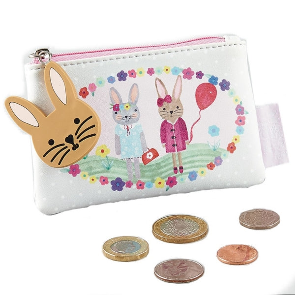 Floss & Rock Bunny Coin Purse