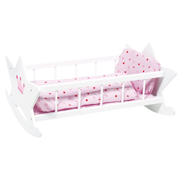 Goki Dolls Cradle with Bedding