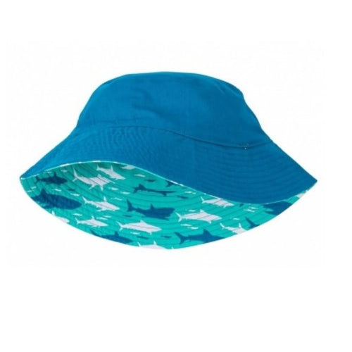 Hatley Boys Reversible Sun Hat Toothy Sharks