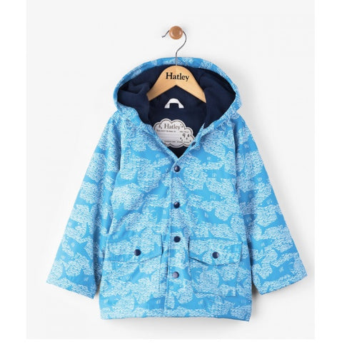 Hatley Boys Shark Alley Classic Raincoat