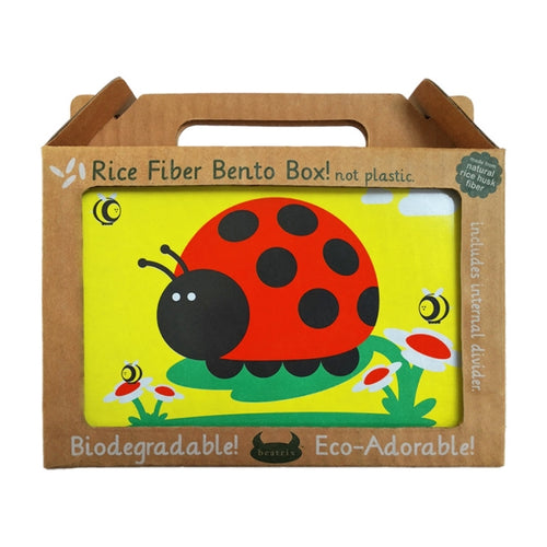 Beatrix New York Rice Fibre Bento Box Juju Ladybug