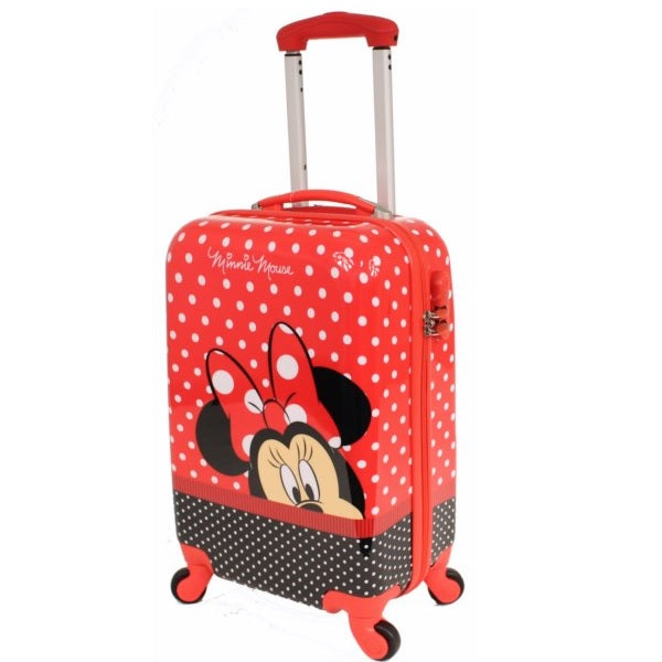 Disney Minnie Mouse Hard Shell 19 Inch Suitcase