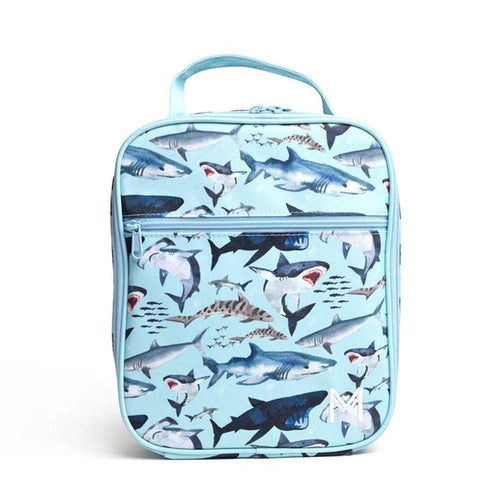 Montii Co Insulated Lunch Bag Sharks