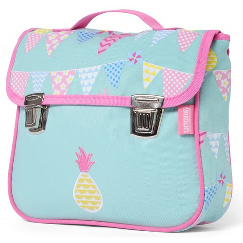 Penny Scallan Pineapple Bunting Satchel Backpack