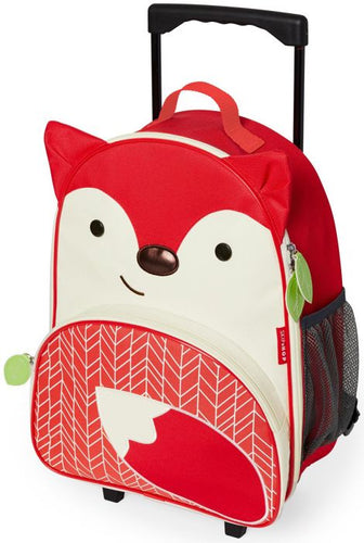 Skip Hop Zoo Kids Wheelie Bag Fox