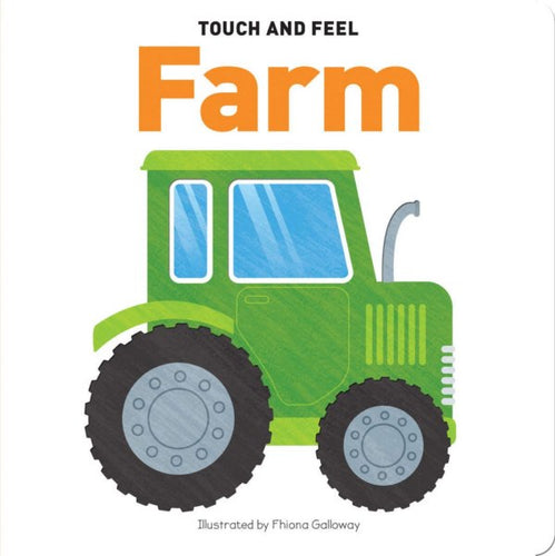 Touch and Feel Board Book Farm