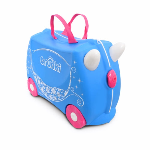 Trunki Kids Ride On Suitcase Princess Carriage Pearl