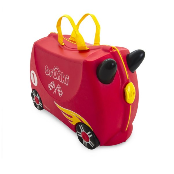 Trunki Kids Ride On Suitcase Rocco Race Car