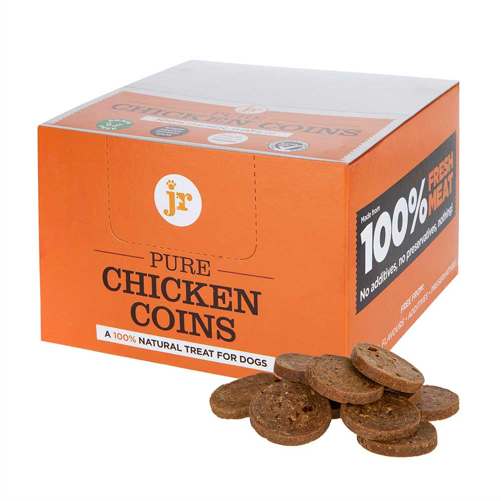 JR Pure Chicken Coins Dog Treats