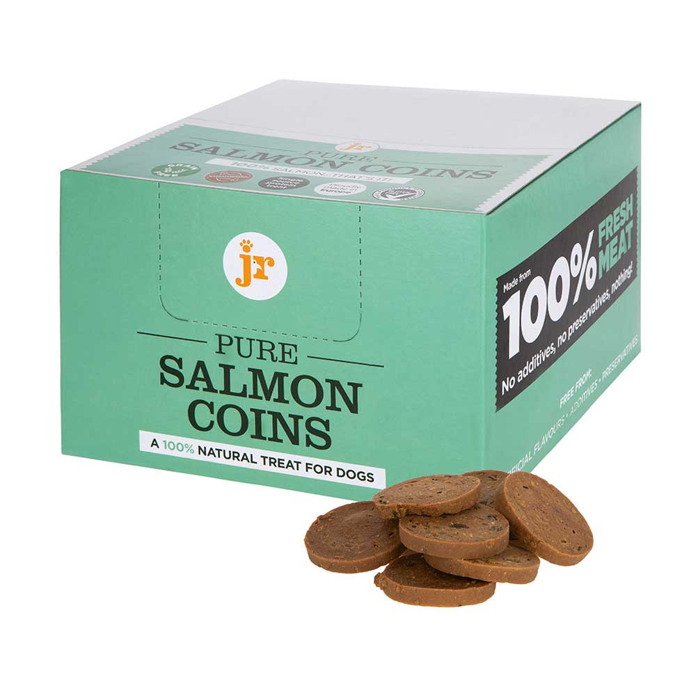 JR Pure Salmon Coins Dog Treats